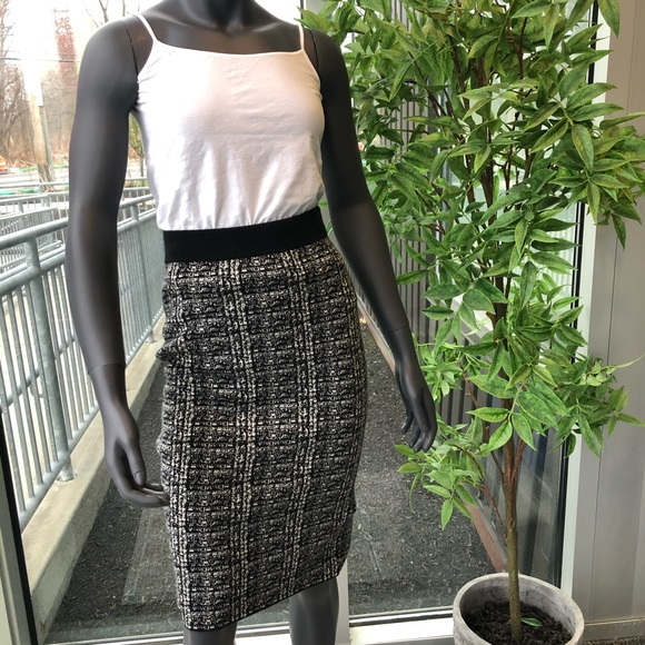 Theory Knit Pencil Skirt
